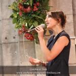 Laurie, chant lead, créatrice de SG et coordinatrice artistique