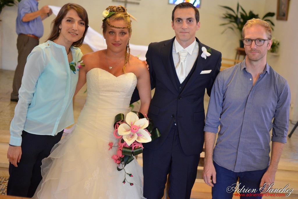 Mariage Gaëlle et Thibault - photo Adrien Sanchez