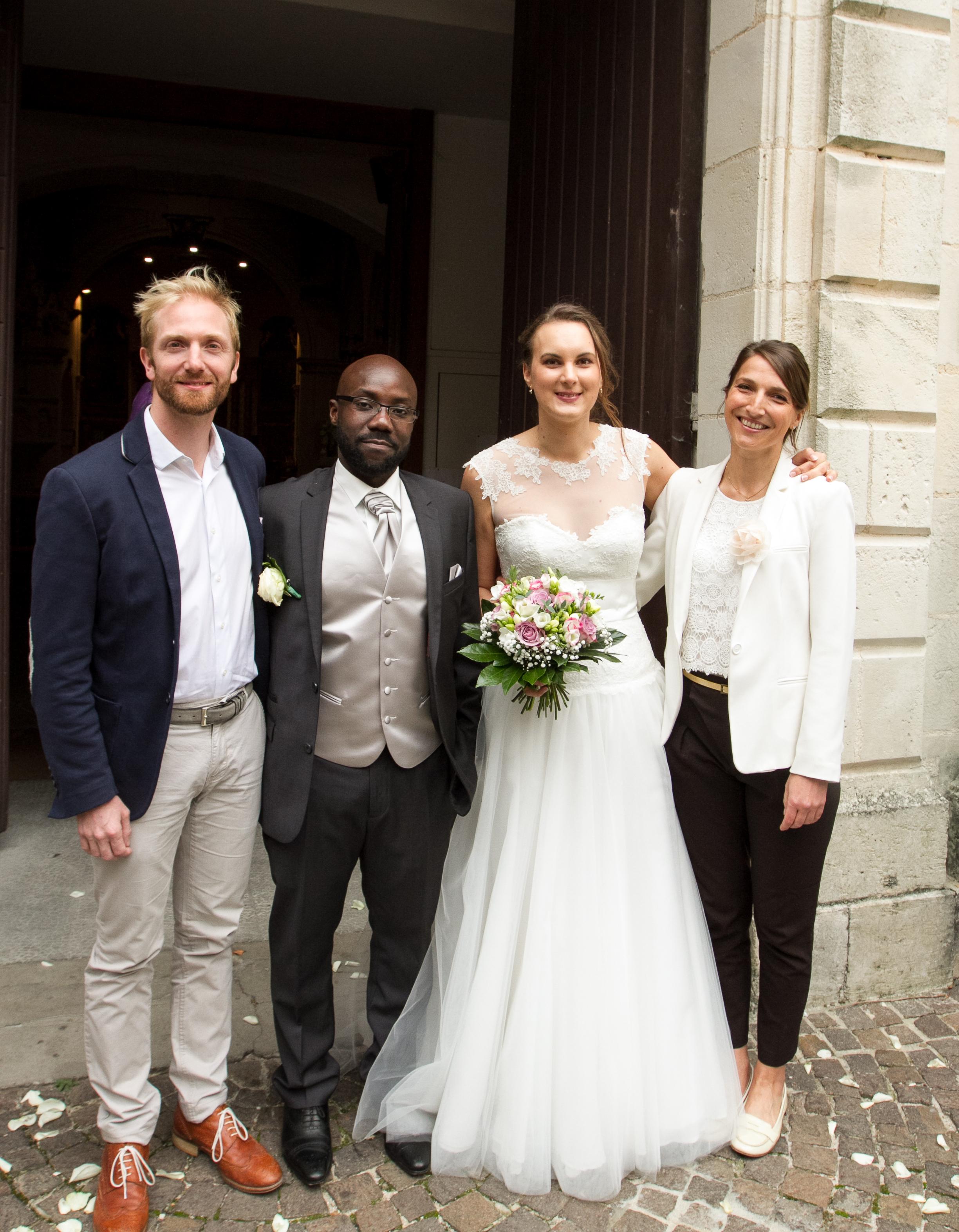 Parvis- mariage religieux Marie & David eglise la teste by Modaliza photographe